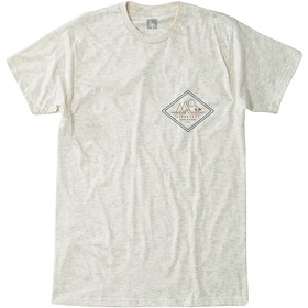Hippy Tree Diamondhead T-Shirt Heren, heather natural